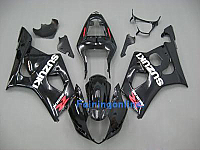 Suzuki GSXR 1000 2003-2004 ABS Fairing Set - Black
