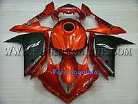 Orange ABS Fairing Set - Yamaha R1 2007-2008