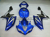 Blue ABS Fairing Set - Yamaha R1 2007-2008