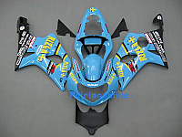 Suzuki GSXR 1000 2000-2002 ABS Fairing Set - Rizla