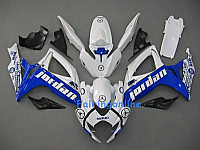 SUZUKI GSX-R 600/750 06-07 K6 ABS Fairing White/blue