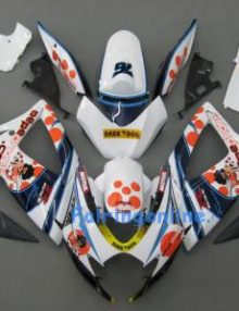 White ABS Fairing Set 23pc - Suzuki GSXR 600/750 2006-2007
