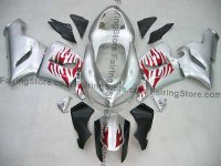 Kawasaki ZX6R Fairings 2005-2006 Type 2