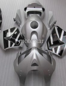 Silver/Black ABS Fairing Set - Honda CBR 600RR 2005-2006