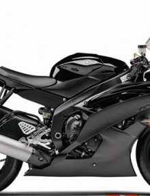 Black ABS 24pc Fairing Set - Yamaha R6 2008-2012
