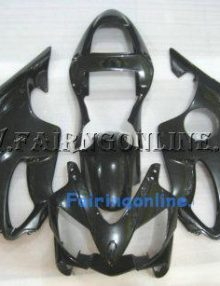 Honda CBR600 F4i 2001-2003 ABS Fairing - Black/Red