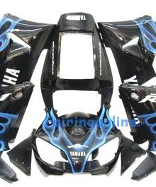 Black Type 2 ABS Fairing Set 13pc - Yamaha R1 1998-1999