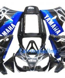 Black Type 3 ABS Fairing Set 13pc - Yamaha R1 1998-1999
