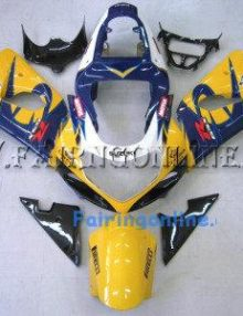 Suzuki GSXR 1000 2000-2002 ABS Fairing Set - Corona Yellow/Blue