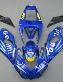 Blue Go Type 2 ABS Fairing Set 13pc - Yamaha R1 1998-1999