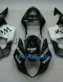 Suzuki GSXR 1000 2000-2002 ABS Fairing Set - West