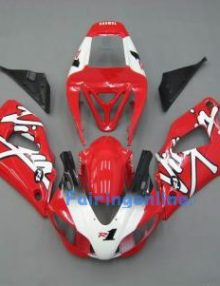 Red R1 ABS Fairing Set 13pc - Yamaha R1 1998-1999