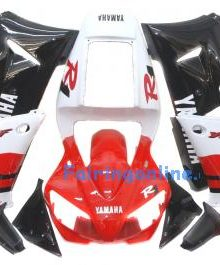 Red/Black ABS Fairing Set 13pc - Yamaha R1 1998-1999