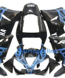 Black ABS Fairing Set 13pc - Yamaha R1 2000-2001