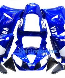 Blue/White Type 2 ABS Fairing Set 13pc - Yamaha R1 2000-2001