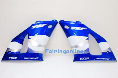 Blue/White Type 3 ABS Fairing Set 13pc - Yamaha R1 2000-2001