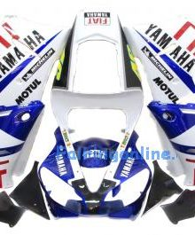 Fiat Type 1 ABS Fairing Set 13pc - Yamaha R1 2000-2001