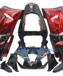 Red/Black Type 1 ABS Fairing Set 13pc - Yamaha R1 2000-2001