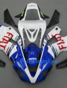 Fiat Type 4 ABS Fairing Set 13pc - Yamaha R1 2000-2001