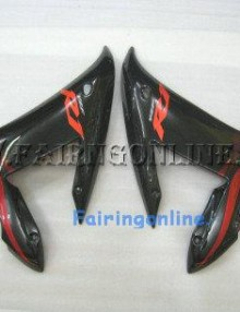 Black Type 1 ABS Fairing Set 14pc - Yamaha R1 2002-2003