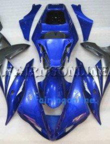 Blue Type 1 ABS Fairing Set 14pc - Yamaha R1 2002-2003