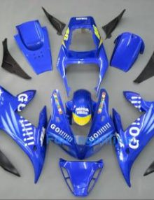 Blue Type 2 ABS Fairing Set 14pc - Yamaha R1 2002-2003