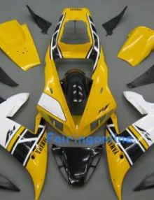 Yellow ABS Fairing Set 14pc - Yamaha R1 2002-2003