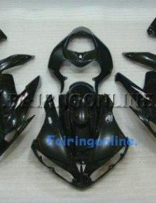 Black Type 1 ABS Fairing Set 15pc - Yamaha R1 2004-2006