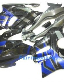 Honda CBR600 F3 1995-1998 ABS Fairing - Black/Blue
