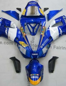 Blue ABS Fairing Set 13pc - Yamaha R1 2000-2001