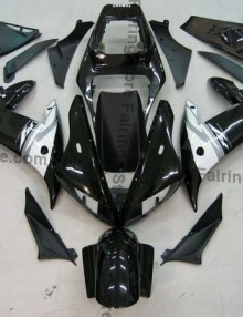 Black Type 3 ABS Fairing Set 16pc - Yamaha R1 2002-2003