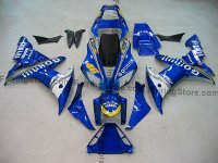 Blue Type 3 ABS Fairing Set 16pc - Yamaha R1 2002-2003