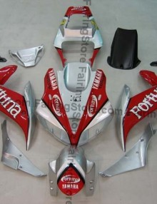 Red ABS Fairing Set 16pc - Yamaha R1 2002-2003