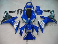 Blue Type 4 ABS Fairing Set 16pc - Yamaha R1 2002-2003
