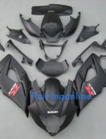 Suzuki GSXR 1000 2005-2006 ABS Fairing Set - Black Type 3