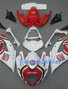 Suzuki GSXR 1000 2005-2006 ABS Fairing Set - Lucky Strike