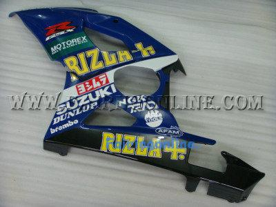 Suzuki GSXR 1000 2005-2006 ABS Fairing Set - Rizla Type 3