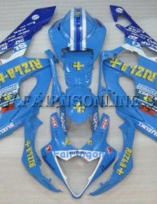 Suzuki GSXR 1000 2005-2006 ABS Fairing Set - Rizla Type 2