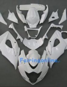 Suzuki GSXR 1000 2005-2006 ABS Fairing Set - White Corona