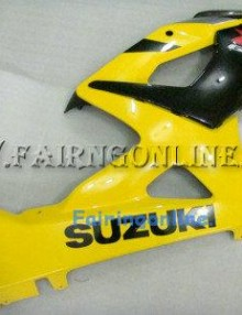 Suzuki GSXR 1000 2005-2006 ABS Fairing Set - Yellow/Black Type 1
