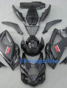 Suzuki GSXR 1000 2007-2008 ABS Fairing Set - Black Type 2