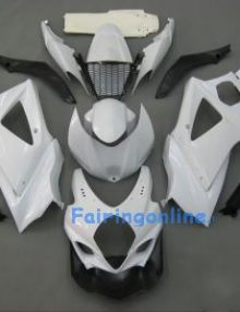 Suzuki GSXR 1000 2007-2008 ABS Fairing Set - White