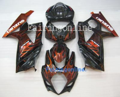 Suzuki GSXR 1000 2007-2008 ABS Fairing Set - Type 3