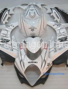 Suzuki GSXR 1000 2007-2008 ABS Fairing Set - Corona White/Black