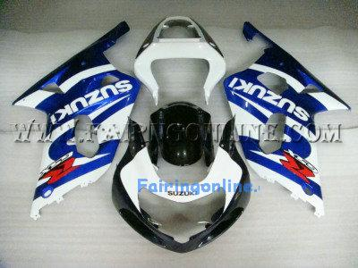 Blue ABS Fairing Set 11pc - Suzuki GSXR 600/750 2001-2003