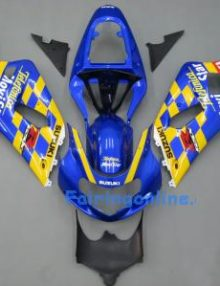 Movistar ABS Fairing Set 11pc - Suzuki GSXR 600/750 2001-2003