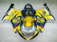 Yellow/Black Type2 ABS Fairing Set 11pc - Suzuki GSXR 600/750 2001-2003