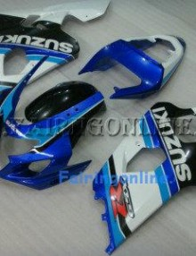 Dark Blue ABS Fairing Set 13pc - Suzuki GSXR 600/750 2004-2005