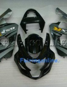 Gray ABS Fairing Set 13pc - Suzuki GSXR 600/750 2004-2005