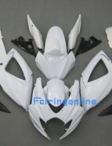 White Type 2 ABS Fairing Set 23pc - Suzuki GSXR 600/750 2006-2007
